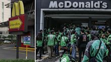 McDonald's forced to close sites due to frenzied scenes