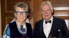Prue Leith and husband selling separate homes as they finally move in together