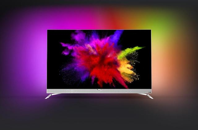 Philips' new OLED TV has built-in, super colorful ambient lighting