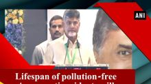 Lifespan of pollution-free Amaravati residents will increase by 20 years: CM Naidu