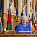 Queen reflects on 'testing times' in Commonwealth address - hours before Harry and Meghan's Oprah interview
