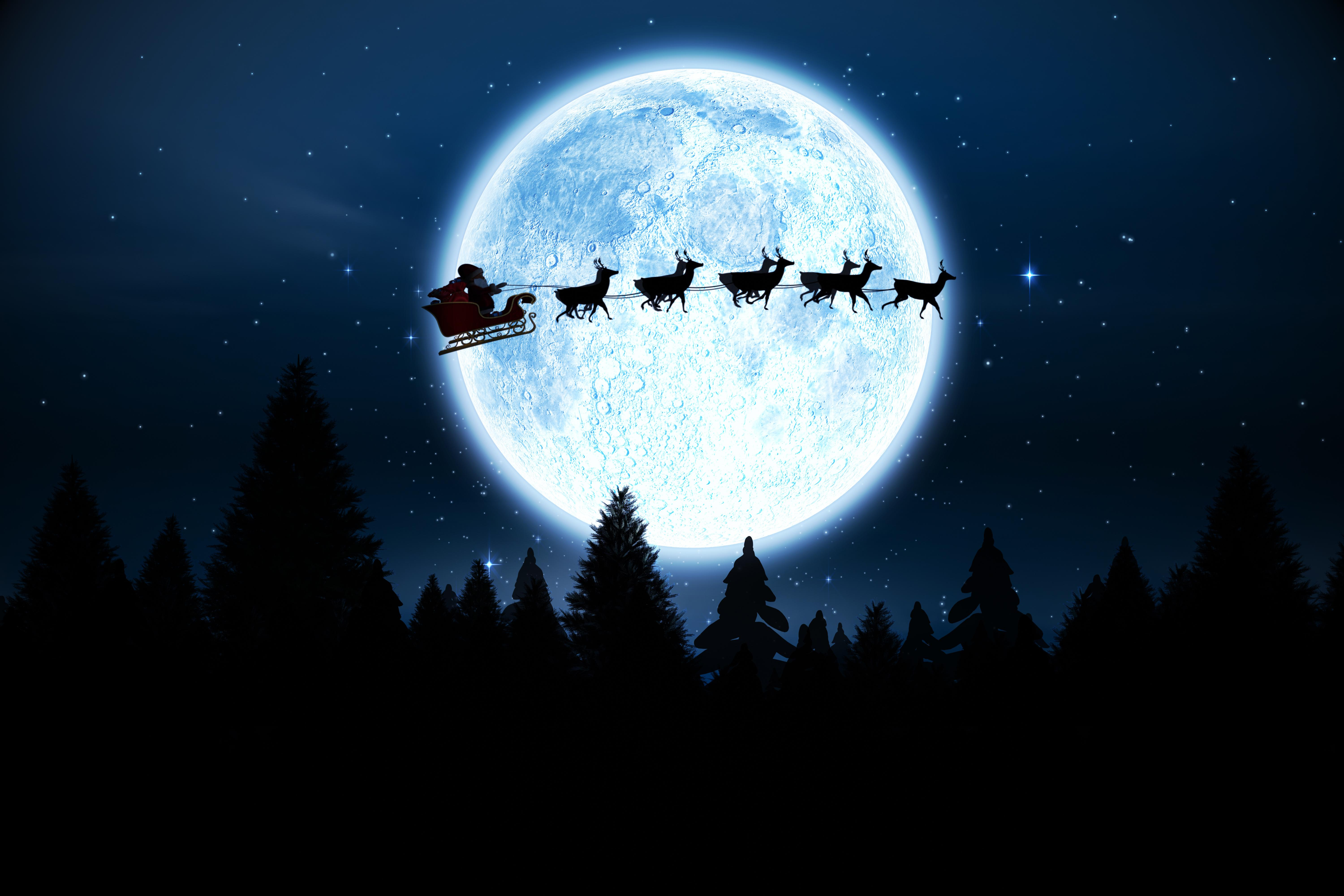 How Does Santa Claus Deliver All the Presents on Christmas
