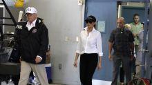 Die Trumps sorgen mit einem Modeaccessoire für Furore