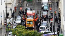 """Zwei weitere Festnahmen nach Angriff vor früherem """"Charlie Hebdo""""-Büro in Paris"""