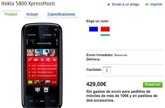Price confusion over Nokia 5800 XpressMusic mercifully ends (maybe)