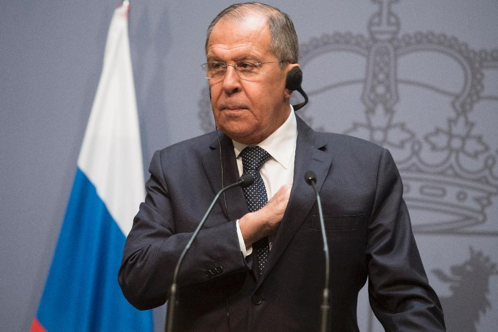 Russian Foreign Minister Sergei Lavrov, pictured November 6, 2018, expressed Moscow's displeasure that Austria chose to air its grievances in public, as the spy row risks hurting Russia's ties with one of its few European allies