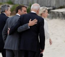 Biden welcomed to G7 with embraces and laughs two years after world leaders were caught mocking Trump