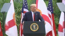 Trump diz que não vai a debate