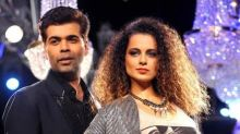 Karan Johar and Kangana Ranaut's cold war not over yet? Read why
