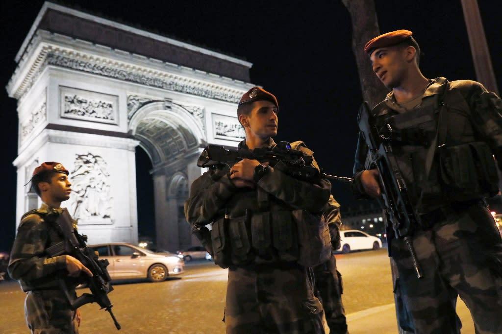 Jihadist attacks on France have killed more than 245 people since 2015 (AFP Photo/THOMAS SAMSON)