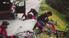 Impactantes imágenes del atropello a Dani Rovira mientras grababa un documental