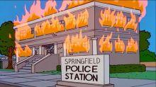 """Os Simpsons """"previram"""" os protestos e a crise política nos EUA? Longe disso"""