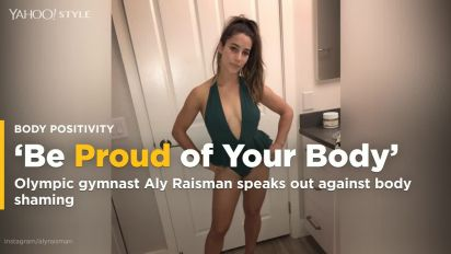 Aly Raisman Raids Her Mom's Closet for Fashion Inspiration