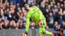 Thibaut Courtois flew to America to watch the Knicks and Super Bowl after Chelsea's win over Arsenal