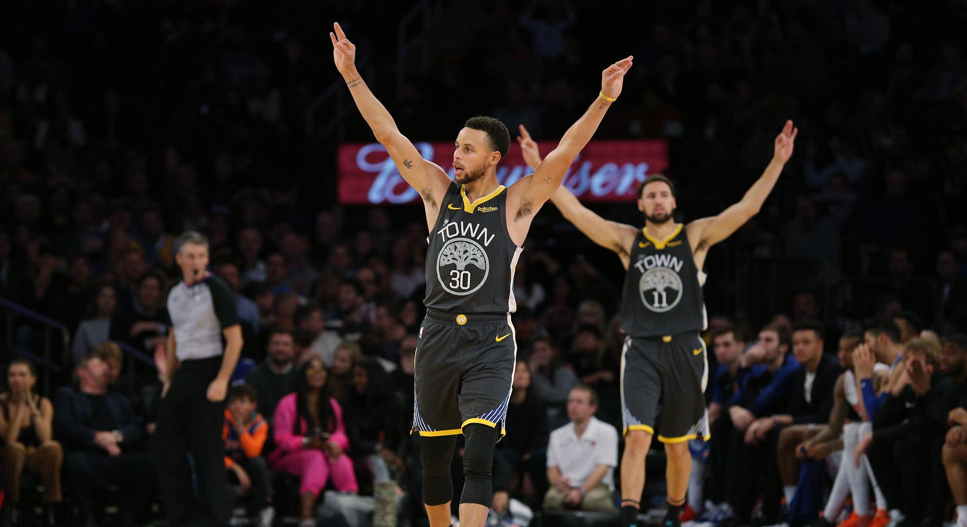 NBA 2K20 ratings: Warriors' Steph Curry, Klay Thompson