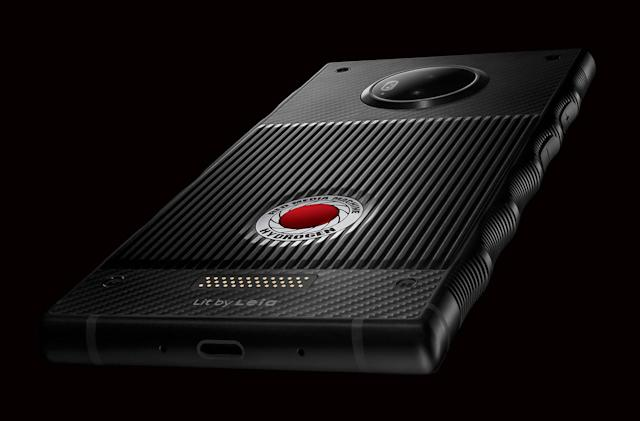 RED shares official Hydrogen One smartphone porn
