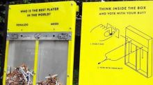 玩遊戲減民眾亂掉煙頭勁有效! 網民大讚英國「投票煙箱」