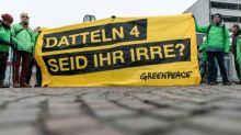 430 Anhänger von Fridays for Future protestieren vor Steinkohlekraftwerk Datteln