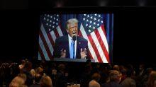 Trump's audience doesn't match Biden's; president hails CNN