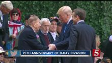 Melania Trump under fire for not removing her sunglasses during D-Day commemoration: 'Disrespectful'