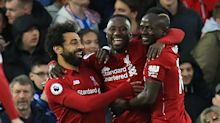 Salah and Mane strike twice as five star Liverpool dismantle Huddersfield to move top