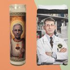 From candles to socks, Dr. Fauci merchandise has officially arrived—because it was only a matter of time
