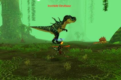 Around Azeroth: Racing with Devilsaurs
