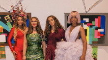 Beyonce, Solange and Kris Jenner bring the wow factor to the Wearable Art Gala