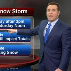 Chicago Weather: Weekend snowstorm could dump 3-8 inches, Winter Storm Watch issued
