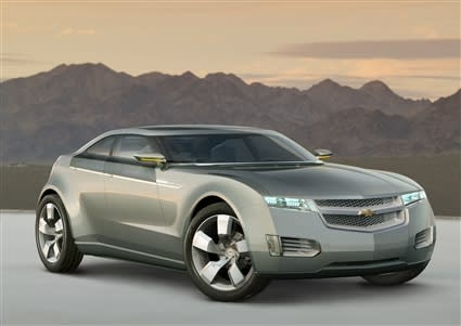 GM's plug-in hybrid concept: the Chevy Volt