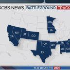 CBS News battleground poll shows Biden leading Democrats