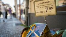 From rubber ducks to sausages, Luther mania sweeps German town