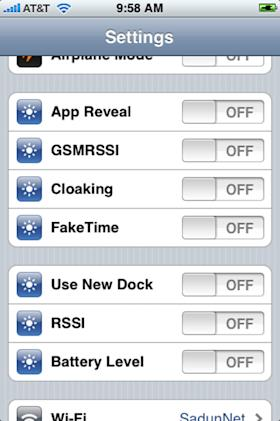 TUAW Hack: Mess with your iPhone Settings screens