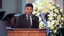 Meet the 12-year-old boy who recited John Lewis' favorite poem at his funeral