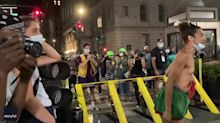 'Traitor to Your F***ing People': New York Protester Calls Officer 'Black Judas'