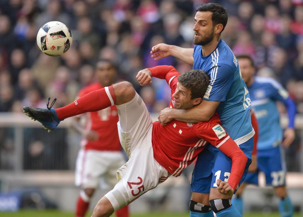 Nettospielzeit: Bayern spielt acht Minuten länger als HSV