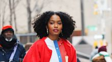 Yara Shahidi Knows Why a Dramatic Makeover is the Answer to Snowy Day Boredom