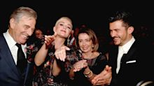 Katy Perry and Orlando Bloom Meet Nancy Pelosi — and Recreate the Speaker's Infamous SOTU Clap