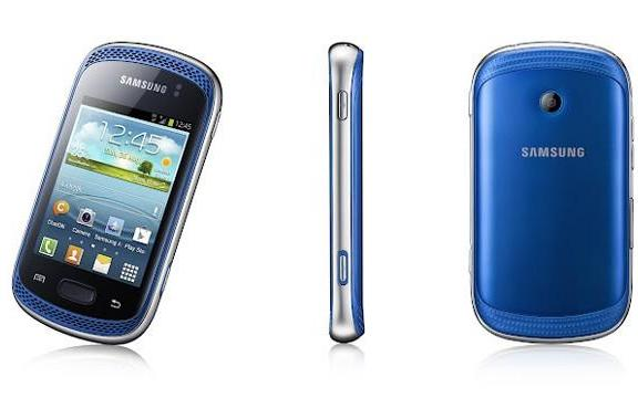 Samsung reveals the Galaxy Music: part budget phone, part mobile disco