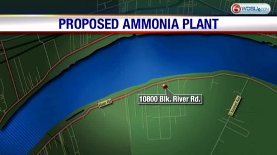 Safety Concerns Over Proposed Ammonia Plant