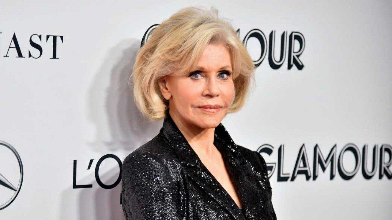 Jane Fonda Opens Up About the Possibility of Spending Her 82nd Birthday in Jail (Exclusive) - Yahoo Entertainment