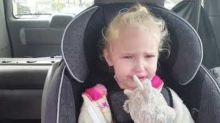 Little Girl Is Upset She Did Not Get Her Flu Vaccine