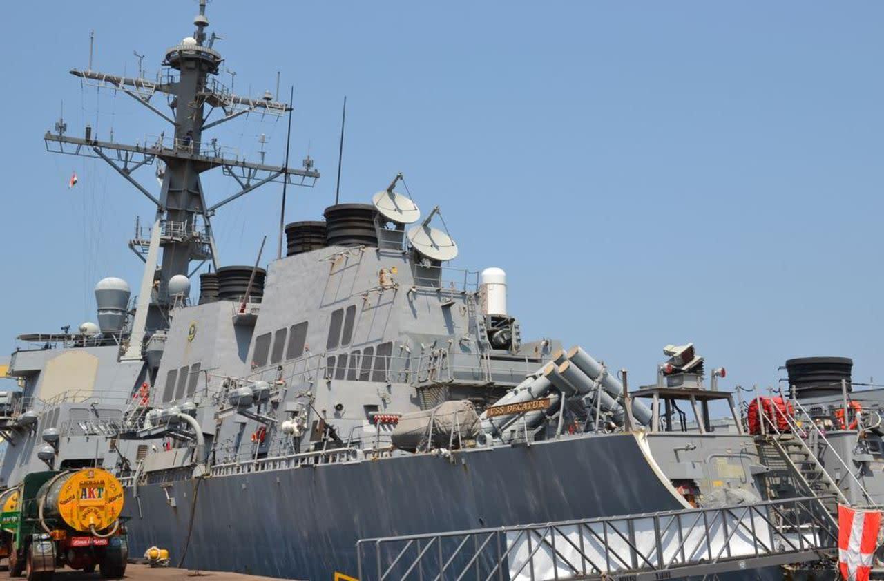 Un navire de guerre chinois s 39 approche dangereusement d - Distance en milles nautiques entre 2 ports ...