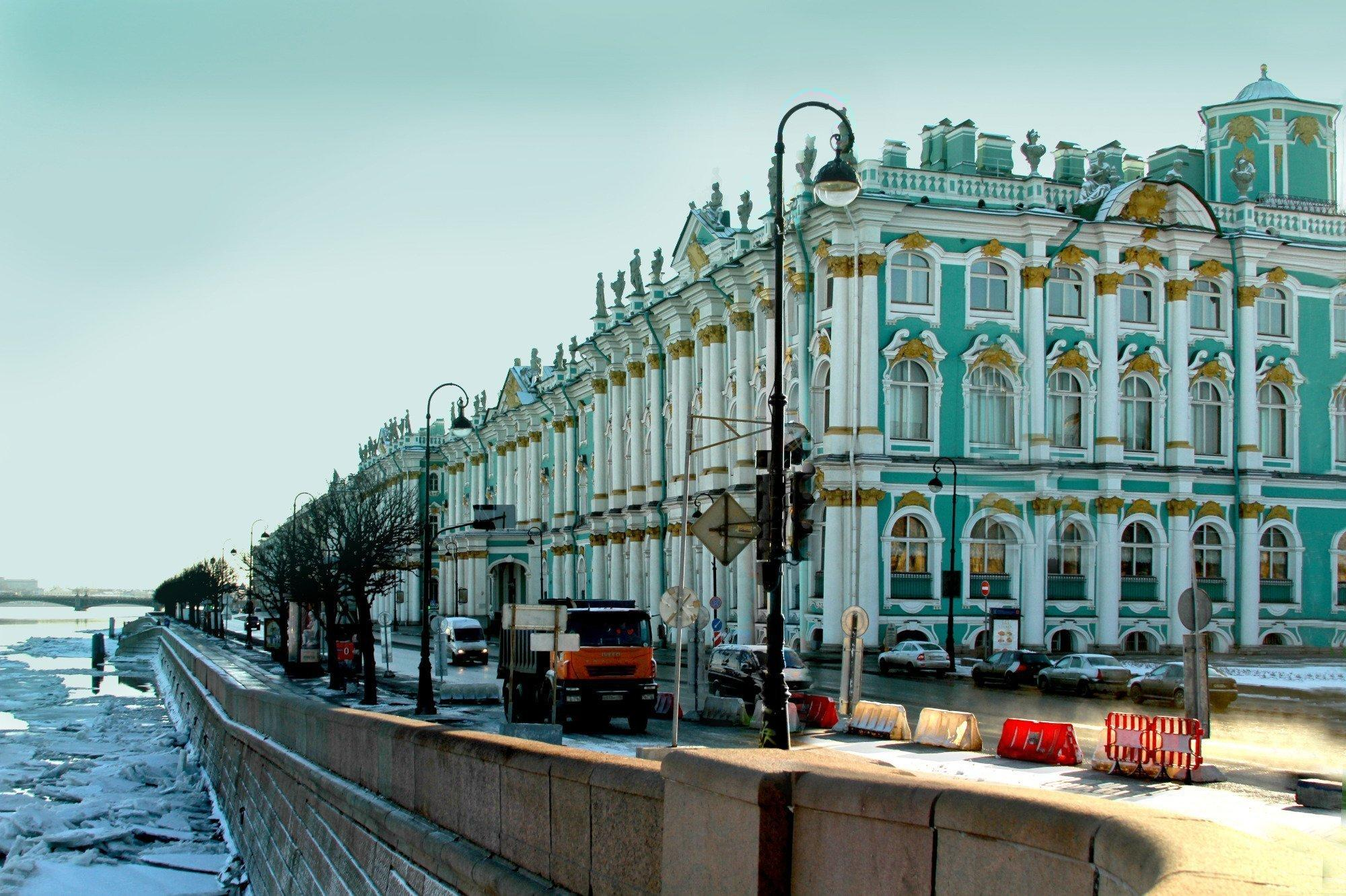 """<p>The <a href=""""http://www.hermitagemuseum.org/wps/portal/hermitage/?lng=en"""" target=""""_blank"""">State Hermitage </a>was founded in 1764 by Catherine the Great and its current collections are made up of more than three million items. The museum is housed in a complex of six buildings on the Palace Embankment, one of which is the Winter Palace, a former home of Russia emperors.</p>"""