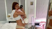 Millie Mackintosh says baby daughter is 'worth every extra inch and stretch mark' in post-pregnancy body confidence post
