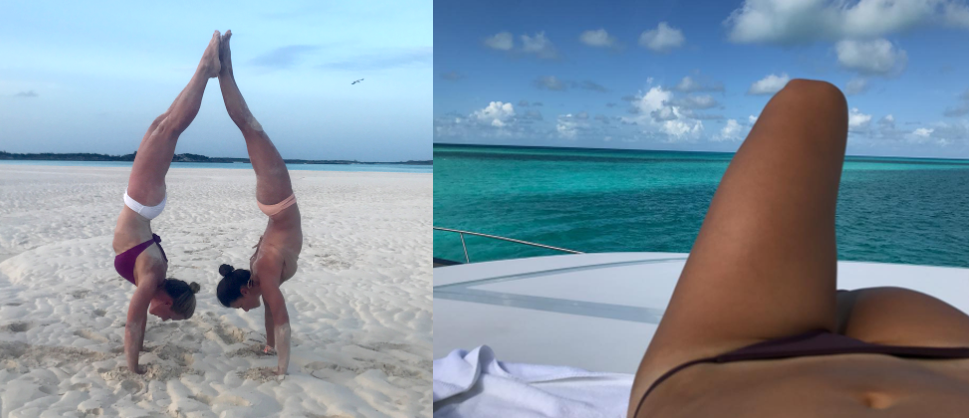 danica patrick shares bikini photos on instagram