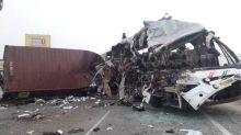 Tamil Nadu road accident: 19 killed in bus-truck collision in Coimbatore, most victims from Kerala