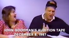 John Goodman's audition and how he got the role on 'Roseanne'