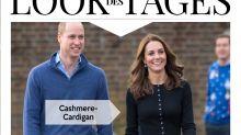 Look des Tages: Herzogin Kate festlich im roten Karo-Rock