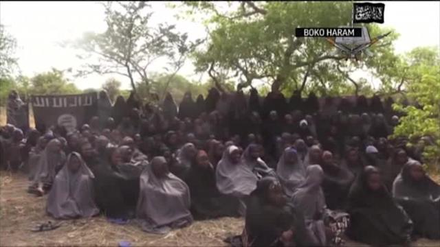 Raw: Video Claims to Show Missing Nigerian Girls